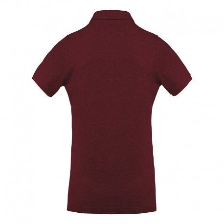 Polo professionnel 100% bio Toptex bordeaux