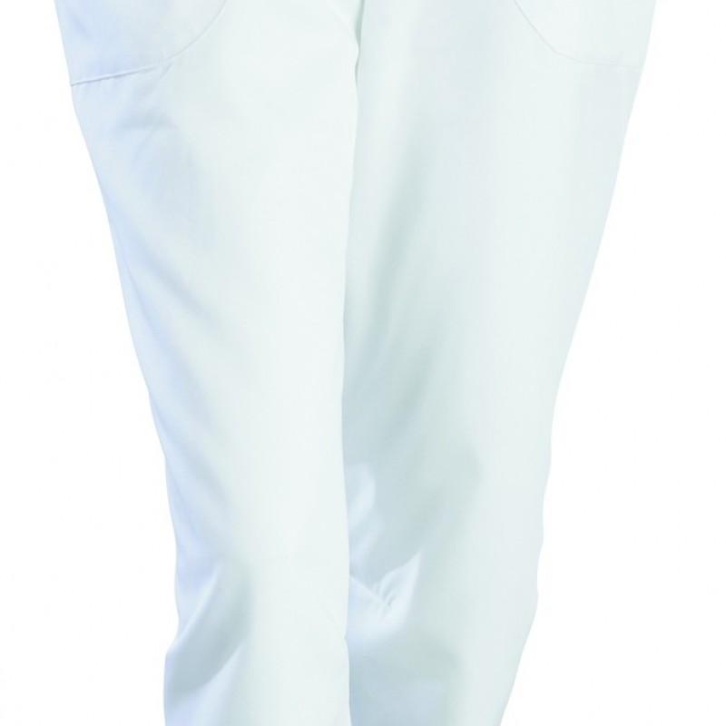Pantacourt médical Julia blanc