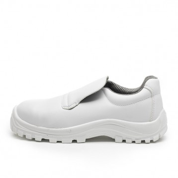 Chaussure de cuisine blanche - TecSafety