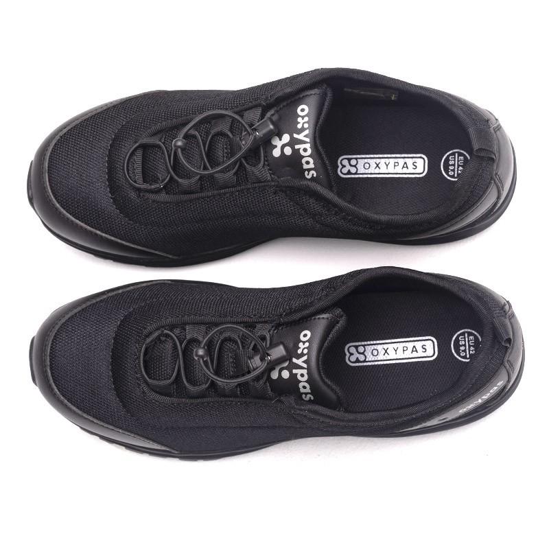 chaussures de travail homme James noir cuisine