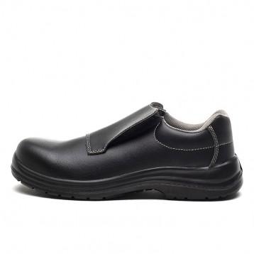 Chaussure de sécurité Noire S2 ORTL Tige microfibre noire respirante
