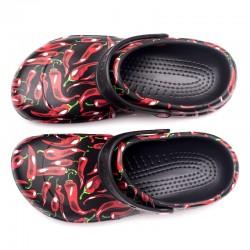 crocs piment confortable et semelle antidérapante