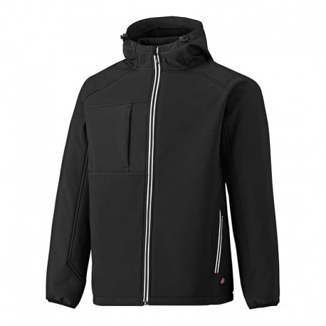 Veste de Travail Softshell Bicolore Two Tone Noir - DICKIES