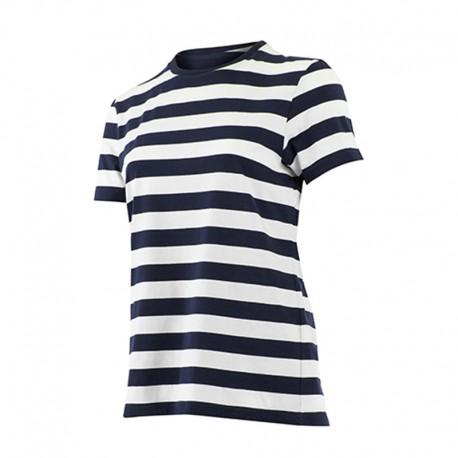 Tee Shirt de Travail Pihet Marinière Femme 100% Coton - LAFONT