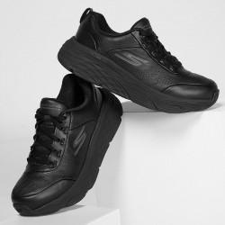 Baskets de Travail Elite Noir Femme - SKECHERS