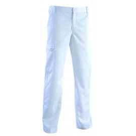Pantalon Médical Homme Roméo Blanc infirmier aide soignant pas cher promotion promo hopital