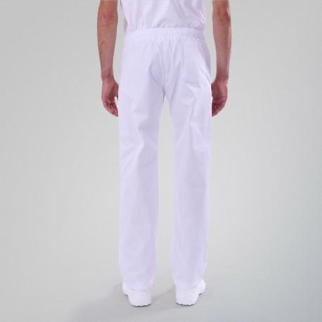 Pantalon de Cuisine Blanc ECO/LYOCELL - MANELLI
