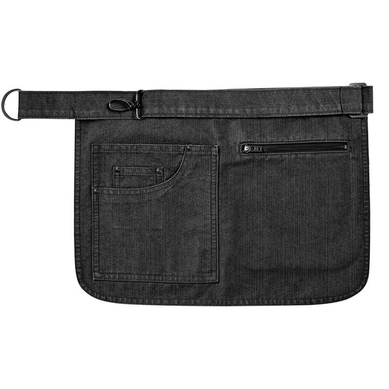 Tablier Court de Serveur et Barman toptex Black denim