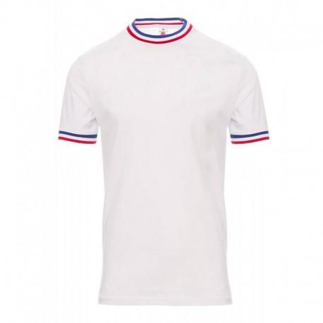 Tee-shirt de Travail Coton Homme Blanc Col MOF PAYPER