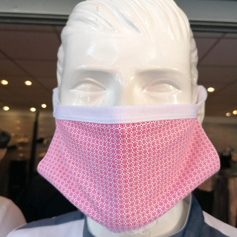 Masques de Protection Tissu 100% Coton et Filtres (Lot de 2) - ITALY