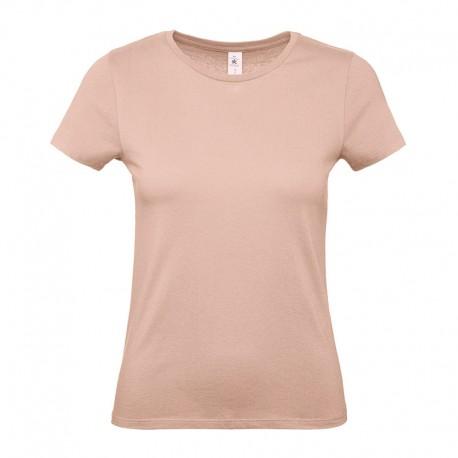 Tee-shirt de Travail Coton Femme Rose Pâle TOPTEX