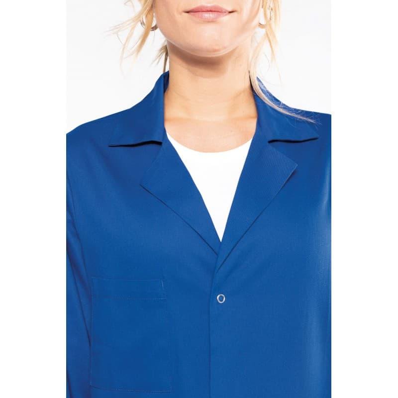 blouse professionnelle bleu pour homme