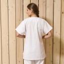 Blouse médicale blanche médicale ecogreen Manelli femme