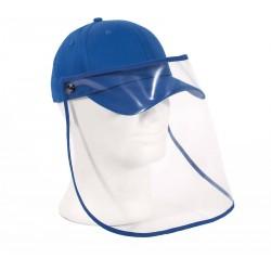casquette avec écran de protection amovible toptex