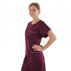 blouse médicale prune valia