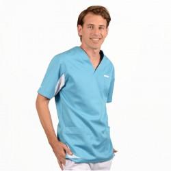 tunique medicale Lafont bleu ciel