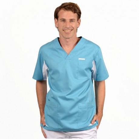 tunique medicale 2sah bleu ciel