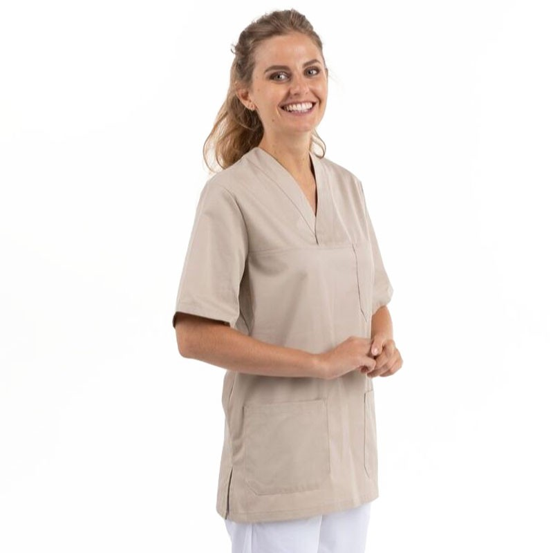 tunique medical infirmier beige Manelli