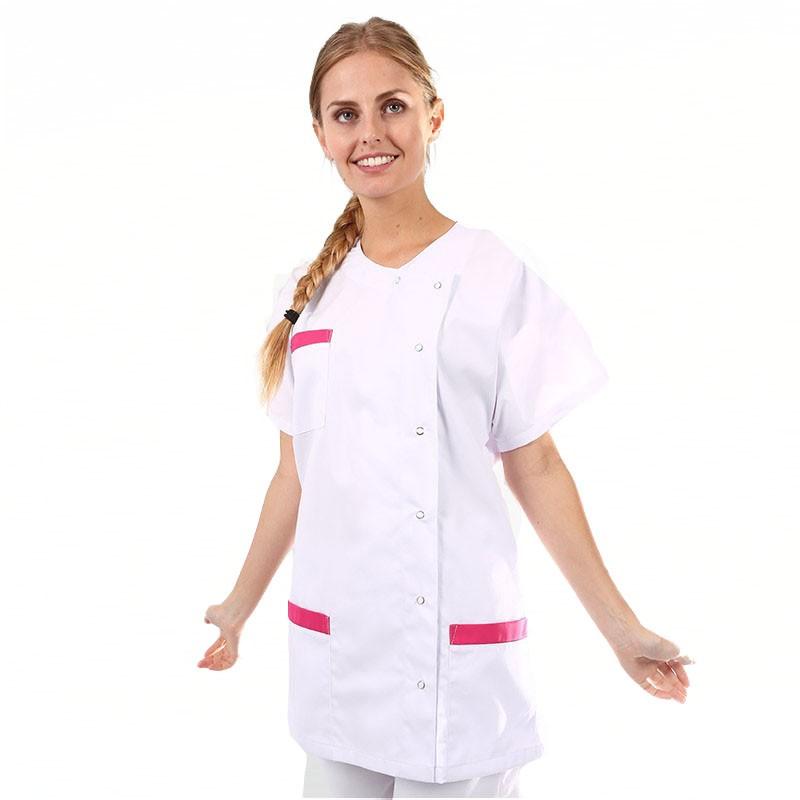 blouse medicale asymetrique serena