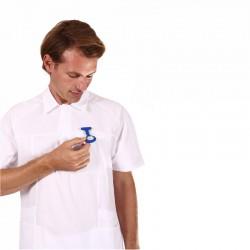 Tunique médicale homme blanche Lafont
