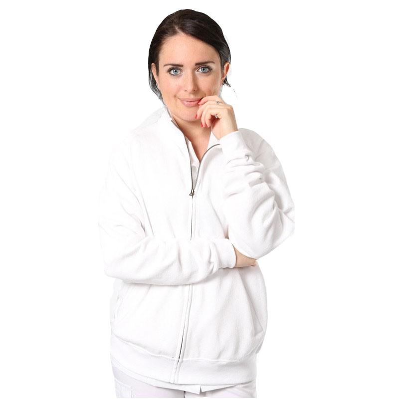 veste polaire blanche Manelli