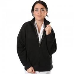 Veste femme zippée blanche ou noire