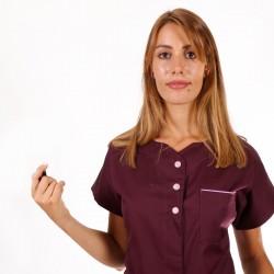 blouse esthétique manche courte Manelli