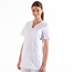 Tunique médicale blanche Lafont 2MAT