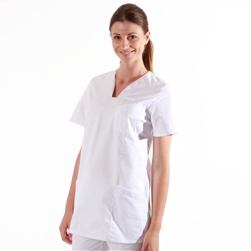 blouse medicale blanche femme Lafont