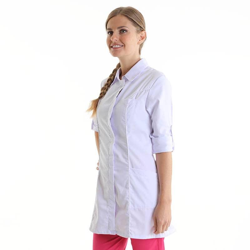 blouse médicale blanche Manelli femme