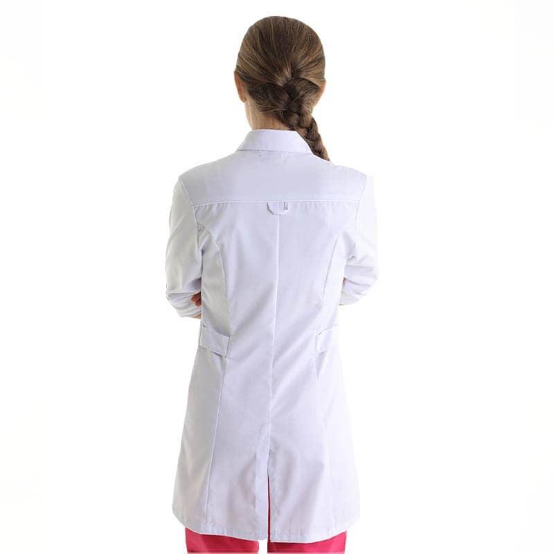 blouse médicale femme liseré blanc