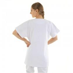 blouse médicale blanche femme lavable en machine