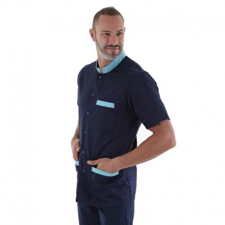 blouse médicale claudio lavable à 60 degres en machine