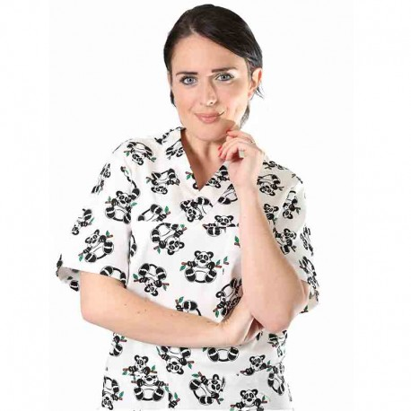 TUNIQUE PUERICULTRICE PETITS PANDAS