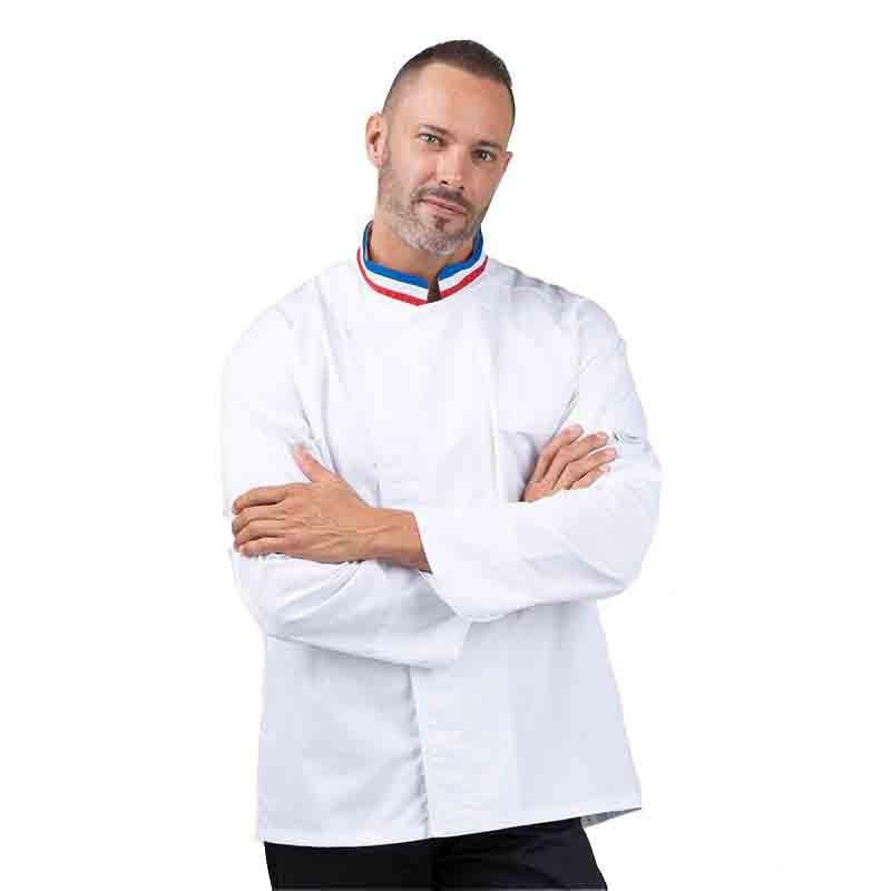 Veste de pâtissier & boulanger MOF - MANELLI - tricolore
