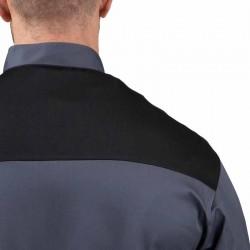 Veste de Cuisine grise - First épaules aérées, parfait pour forte chaleur