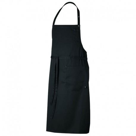 tablier mixte de cuisine noir robur dax