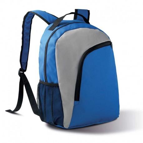 sac a dos bleu et gris toptex