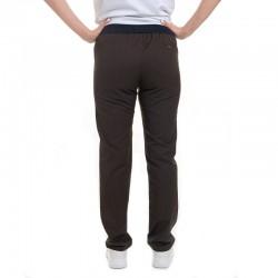 pantalon confortable marron manelli