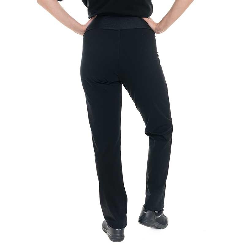 pantalon jersey noir