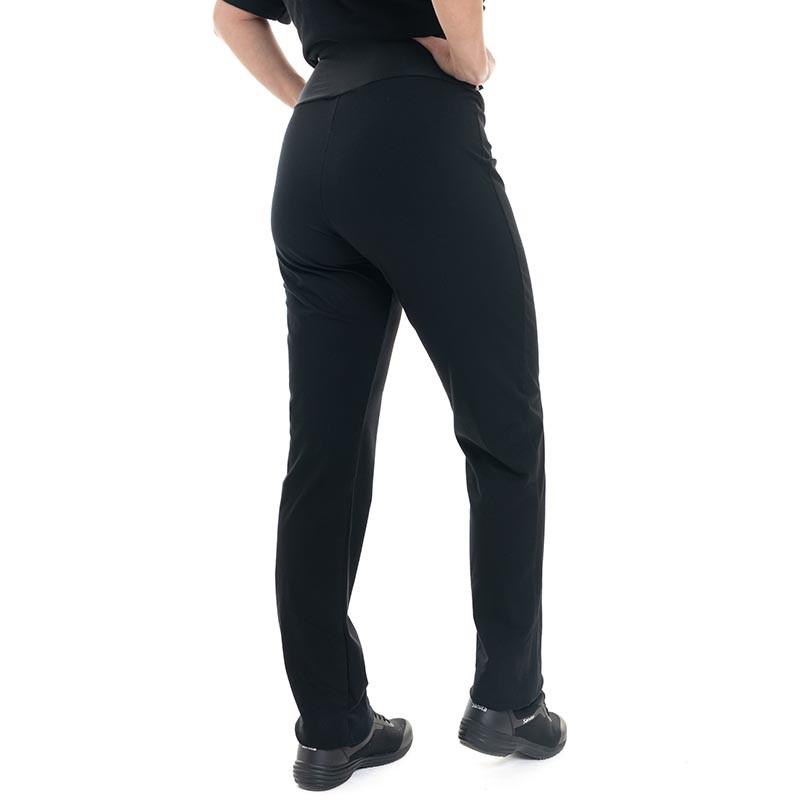 pantalon confort femme noir