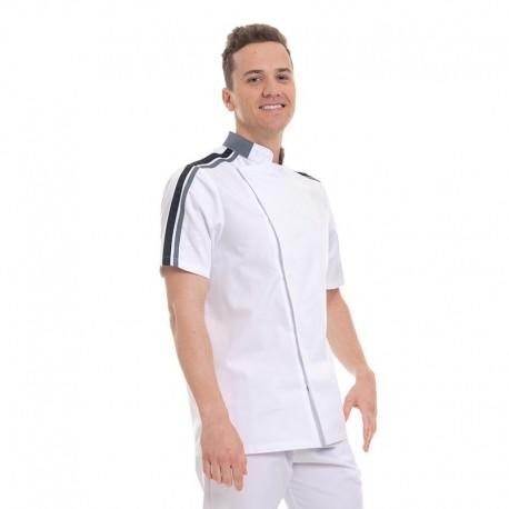 veste disponible manches courtes ou manches longues