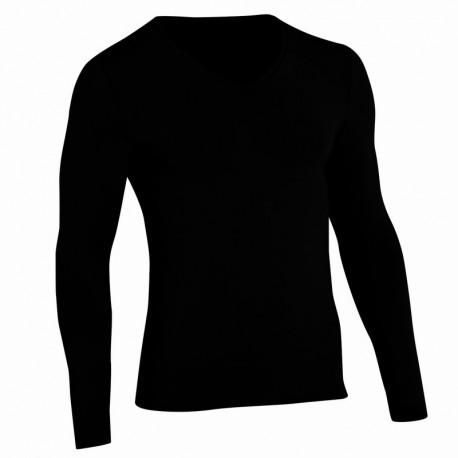 tee shirt noir thermolactyl homme