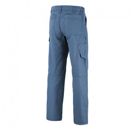 Pantalon de travail bleu petrole