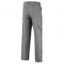 Dos pantalon de travail Lafont Gris acier
