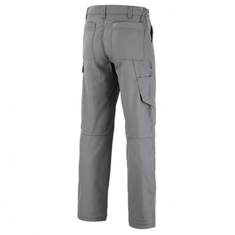 Pantalon de travail gris acier dos lafont