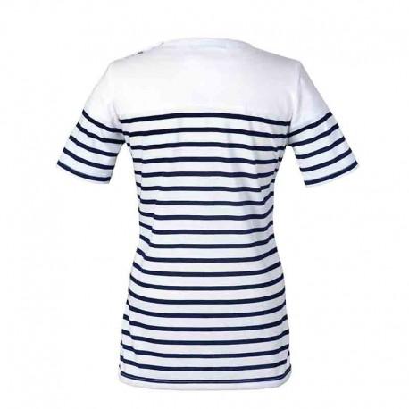 Dos Tee-shirt marinière BALISE Femme - ROBUR