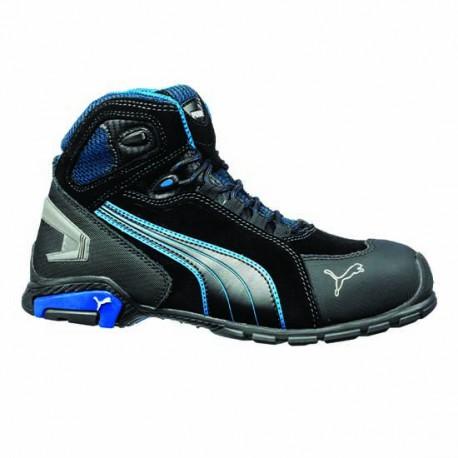 Basket de sécurité Puma Rio Black Mid. Chaussures de sécurités montantes haut de gamme.