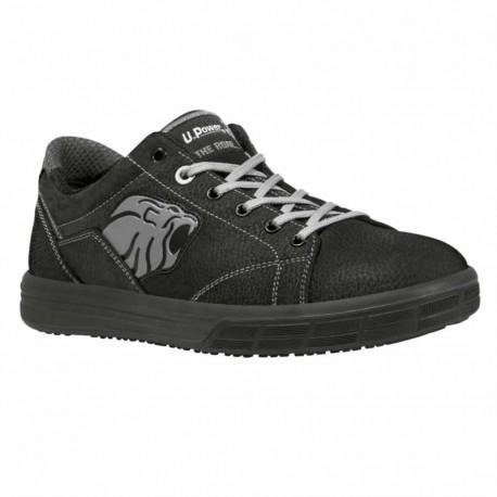 Chaussures de Sécurité Basket Gris - Norme S3, coque de protection composite.