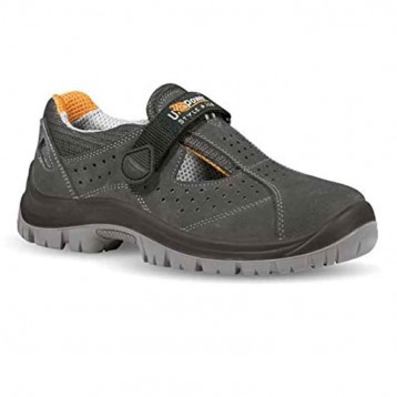 Chaussures de sécurité scratch S1P. Sans lacets et très légère.